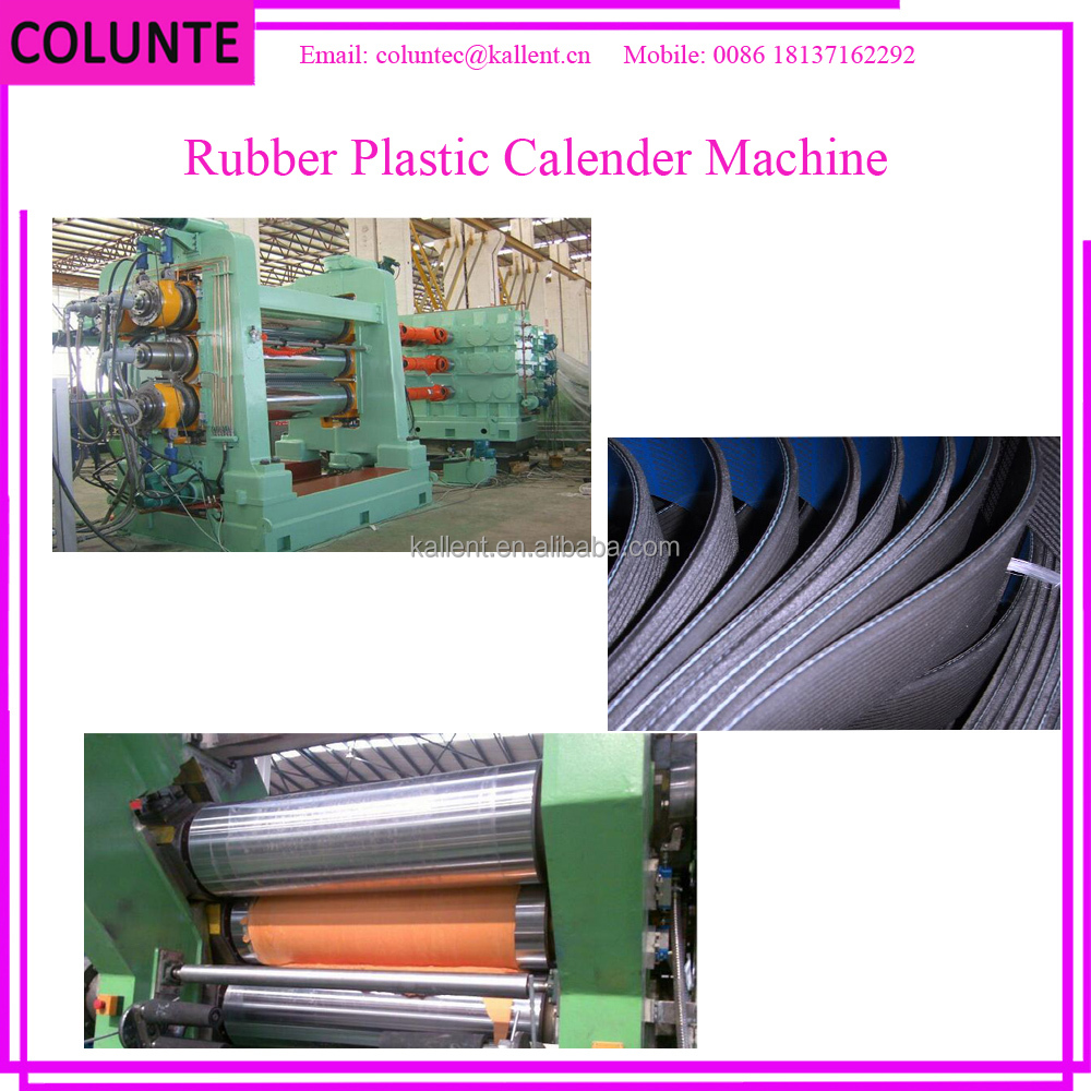 Colunte 610*1730mm 4-Roll rubber calender / waste rubber processing machine/two roll mixing mill