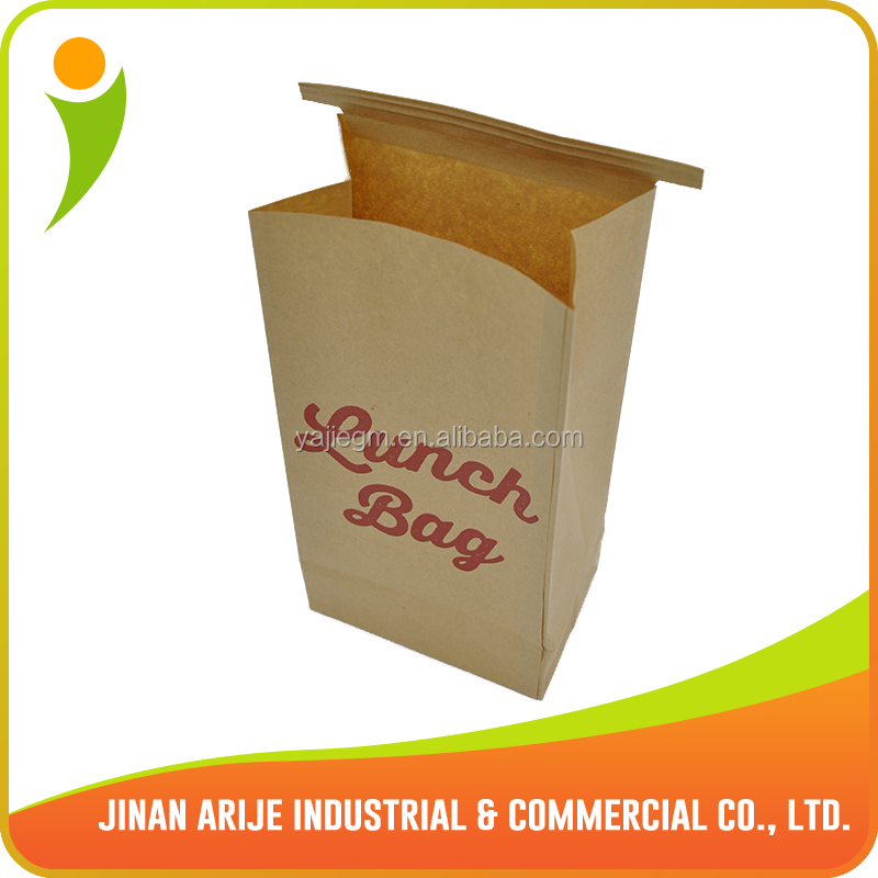 Hight quality take out food bags with PE laminated