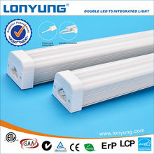 Best Selling 30w Double t5 Led tube light with ETL DLC TUV SAA C-Tick t5 holder with wires