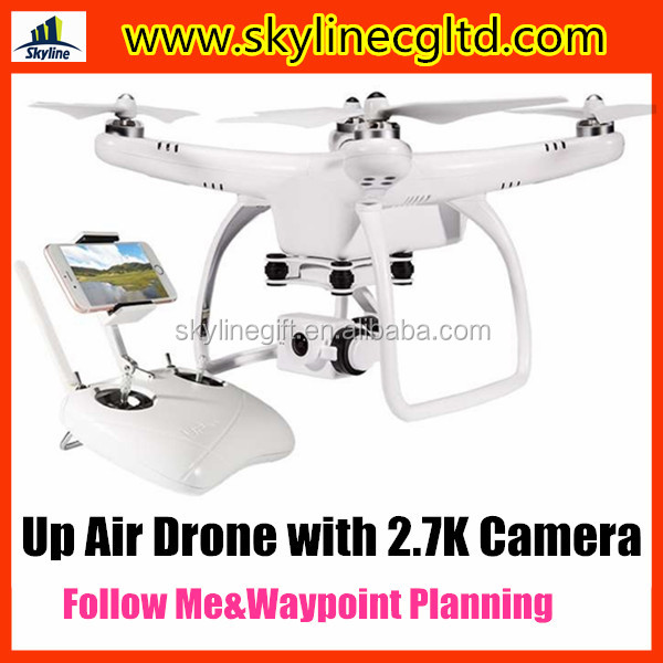Upair one plus GPS follow me drone with 2.7K camera