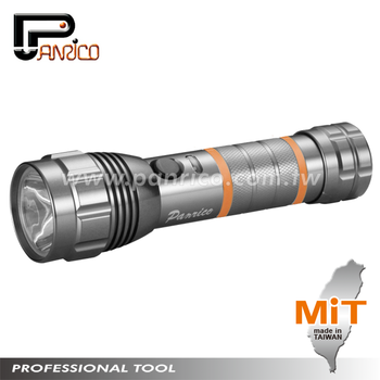Made in Taiwan 3W High Power Re/Discharging protection circuit Waterproof LED Light Lamp LED Torch LED Flashlight