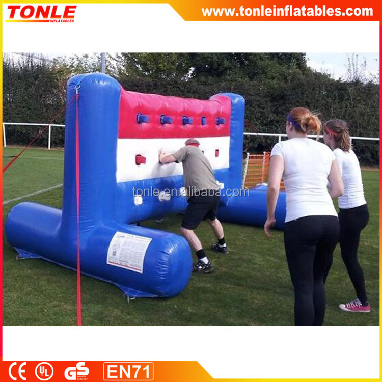 Commecial Inflatable Batak Wall,inflatable sport games for fun