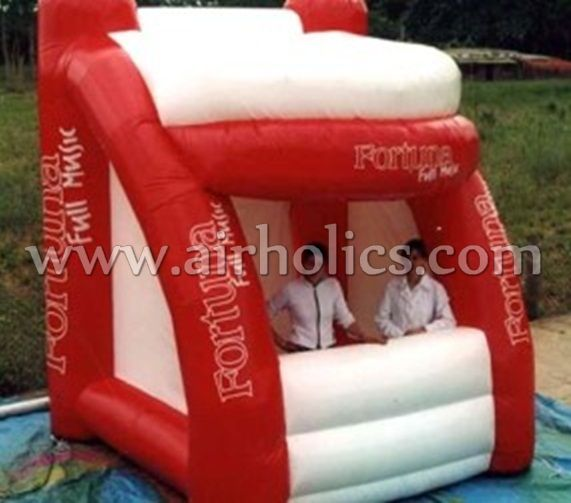 Attractive Portable Lighted Inflatable Cube Photo Booth/Kiosk For Sale H2170