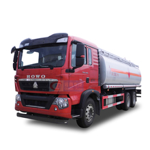 High Quality SINOTRUK HOWO 6x4 Heavy Oil Tanker Truck Price /18000L-25000L Oil Tank Truck For Sale