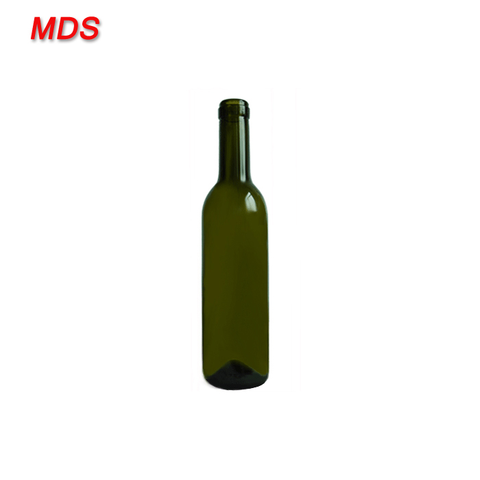 Wholesale 375ml red glass wine vodka bottle for wine
