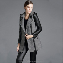 Monroo 2014 Autumn New Coming Warm Clothing Slim Fit Cheap Price Women Woolen Coat lady coat
