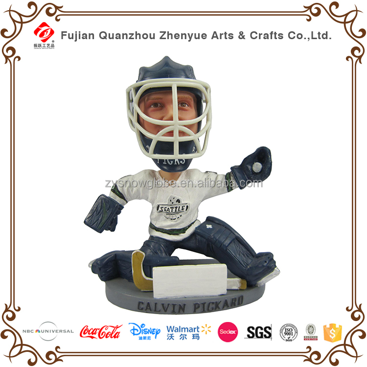 2017 new hockey player bobble head figurines