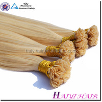 2016 Top quality 100% remy human hair extensions italian glue 18inch I Tip Ombre Hair Extensions