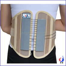 CE FDA approved breathable core pull lumbar support
