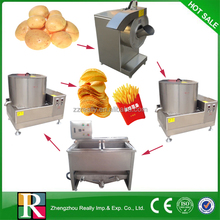High quality fully automatic and semi-automatic potato chips machines production line