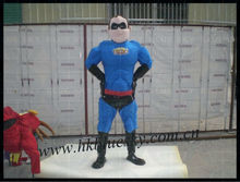 2013 custom made superhero mascot costumes