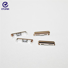 Chinese supplier CNC aluminum parts mobile phone accessories with power metal button