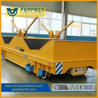 Handling Vehicle, Cable Powered Utility Steel Pipe Carriage With V-shape Supporter