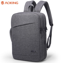 Water proof portable square bagpack mens slim 3 compartment laptop bag briefcase backpack