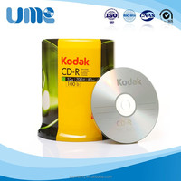 Wholesale 100 piece pack Kodak blank CD 52X free samples