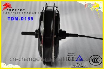 Brushless durable free maintence gearless hub motor