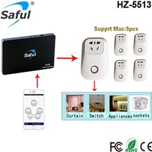 315/433MHZ Wireless Smart Power Remote Control Socket Plug for Home automation and alarm system