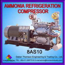 100 Series Reciprocating Ammonia Refrigeration Compressor Unit 8AS10