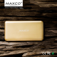 MAXCO 8000mah power bank, lithium ion battery pack for iphone, mobile phone