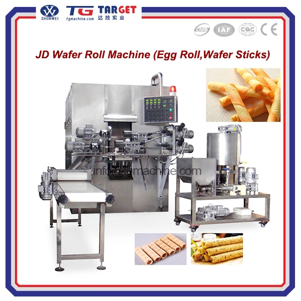 Gas/electricity baking wheel Egg roll machine/supplying also including spare parts/Small working space/Less labor needs