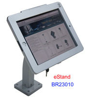 eStand BR23010 tablet security stand display for locked ipad wall mount