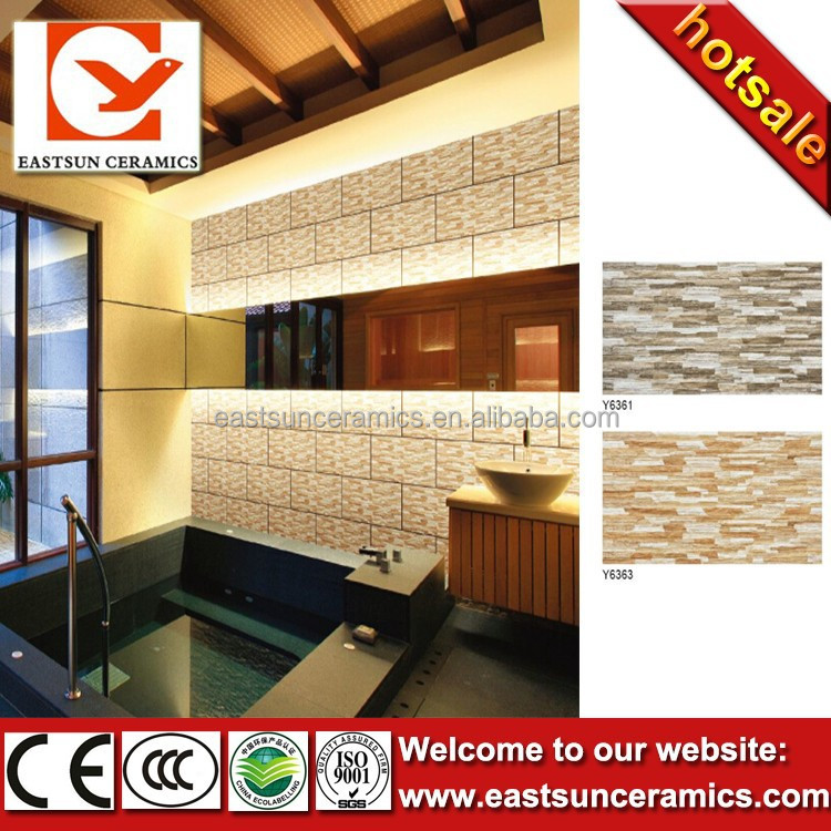 Exterior Rough Edged Slate Brick Cladding Wall Tiles Designs India