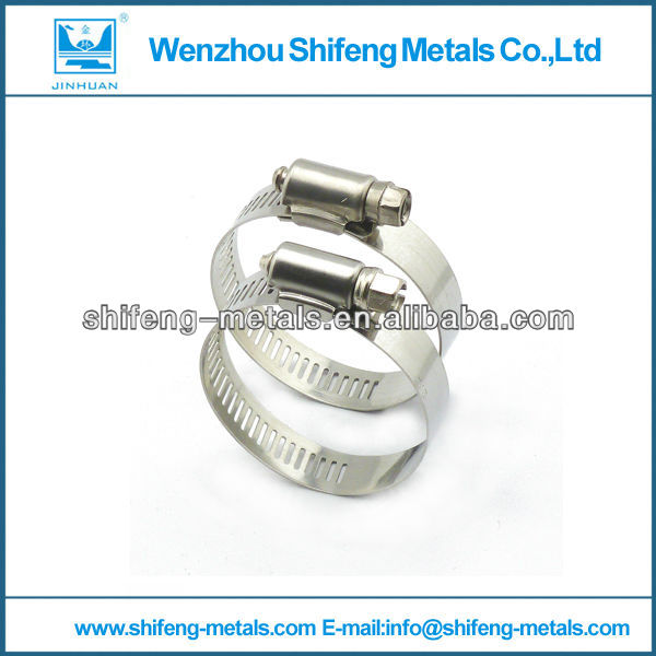 American Stainless Steel Worm Drive Hose Clip