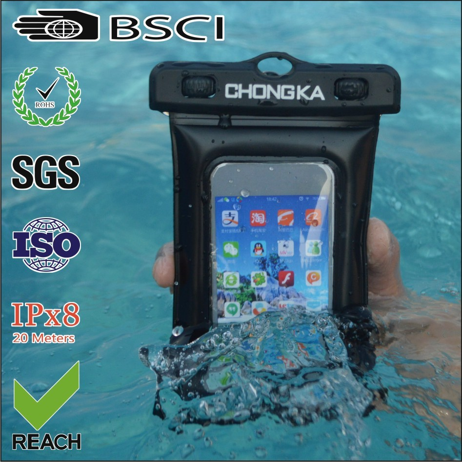 Top quality cell phone cover waterproof bag for iphone 4