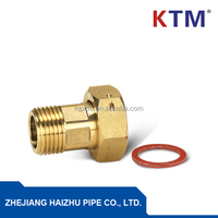BRASS FITTING, PIPE FITTING, WATER METER CONNECTOR FOR CONNECTING PEX-AL-PEX PIPE