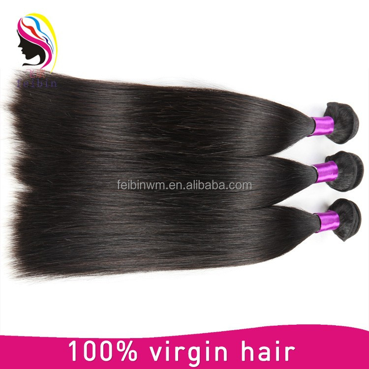 Wholesale Cheap Virgin Brazilian Straight Hair Weave Bundles, Brazilian Human Hair
