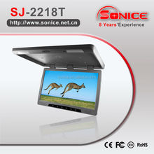22'' roof mount car tft lcd flip down monitor Bus TV