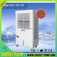 GF-55 NEW portable mini air cooler with strong cold air for middle east market and popular urumqi market (air flow 5500m3/hr)