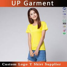 Factory custom-made garment manufacturer for womens tshirts