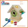 New unfinished bird house small wooden bird houses diy paint your own
