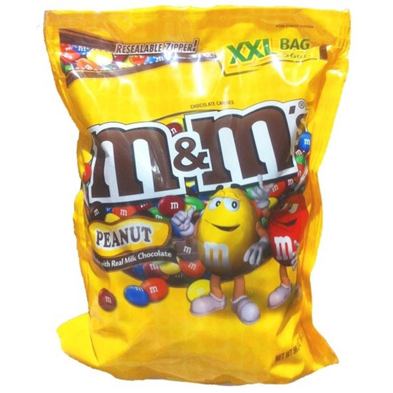 Custom M&m Candy Plastic Packaging Bag/sugar Candy Bag For ...