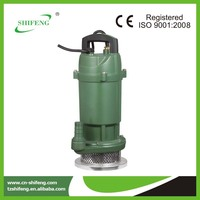 small clear water electric fuel pump submersible pump QDX6-14-0.55 showfou submersible pumps