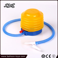 10 cm in diameter advertising balloon accessories Plastic foot balloon pump