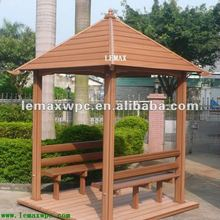 WPC Pergolas Gazebo project wpc waterproof wooden pergola gazebo for garden decoration