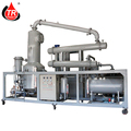 Vaccum distillation used car oil recycling plant