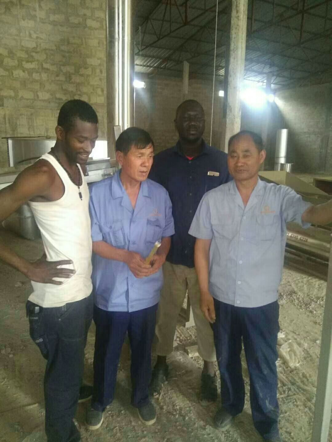 Cassava flour processing production plant