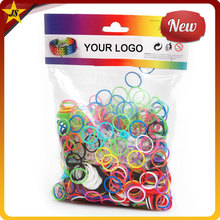 Wholesale Package Colorful Loom Cheap Rubber Bands Refills