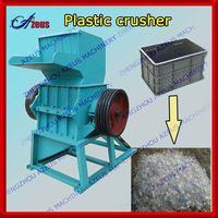 2013 Strong crushing effect pet plastic grounding machine for PP/PE/PET/PVC plastics