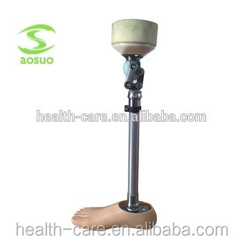Low cost and high quality of prosthetic legs artificial limb