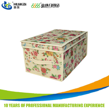Household products 2017 collapsible fabric storage boxes non-woven fabric custom doll storage boxes