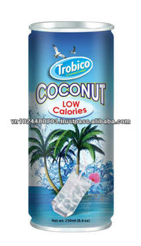 250ml Natural Coconut Juice With Pulp