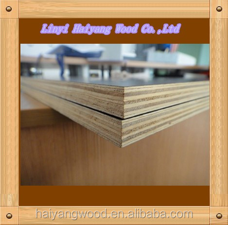 18mm Film Faced Plywood with poplar core Two Times Hot Press