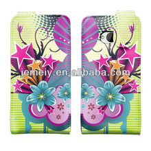 NO.2 STYLISH PRINTED LEATHER MAGNETIC FLIP SKIN CASE COVER FOR HTC One M7