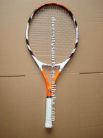 OEM Graphite And Aluminum Composite Tennis Racket One piece Tennis Racquet