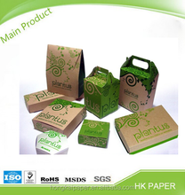 High quality laminated Food grade brown sack perforated kraft paper for bags