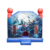 OEM Banners Air Bounce House Moonwalks Outdoor Inflatable Trampoline Houses Small Kis Jumping Bouncer Castle